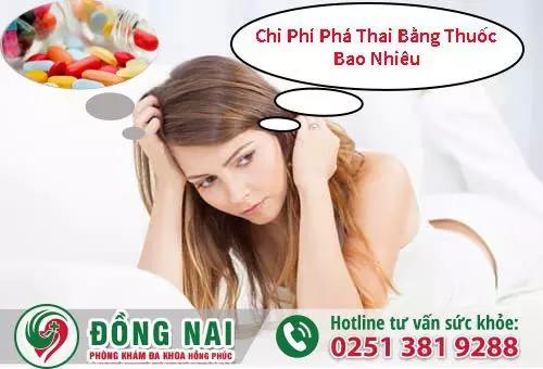 Chi phí phá thai bằng thuốc bao nhiêu tiền ở Biên Hòa